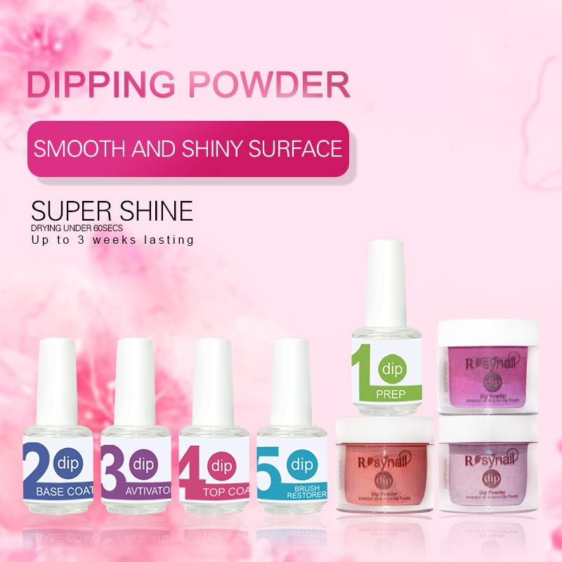 China Free Samples Long Lasting 120 Colors Acrylic Dipping Powder Kit Nail Art