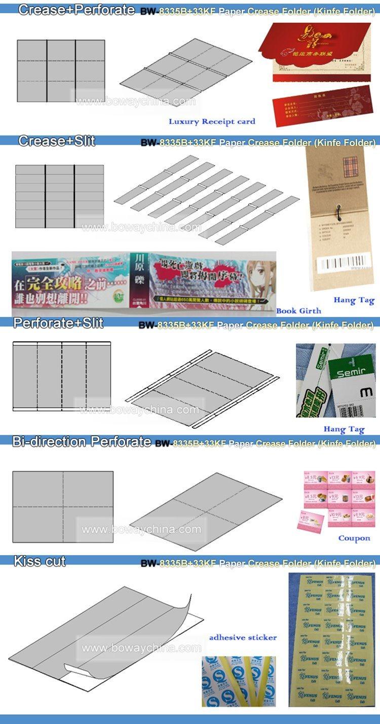 China Half FoldZ FoldLetter FoldOffset FoldDouble Half Fold