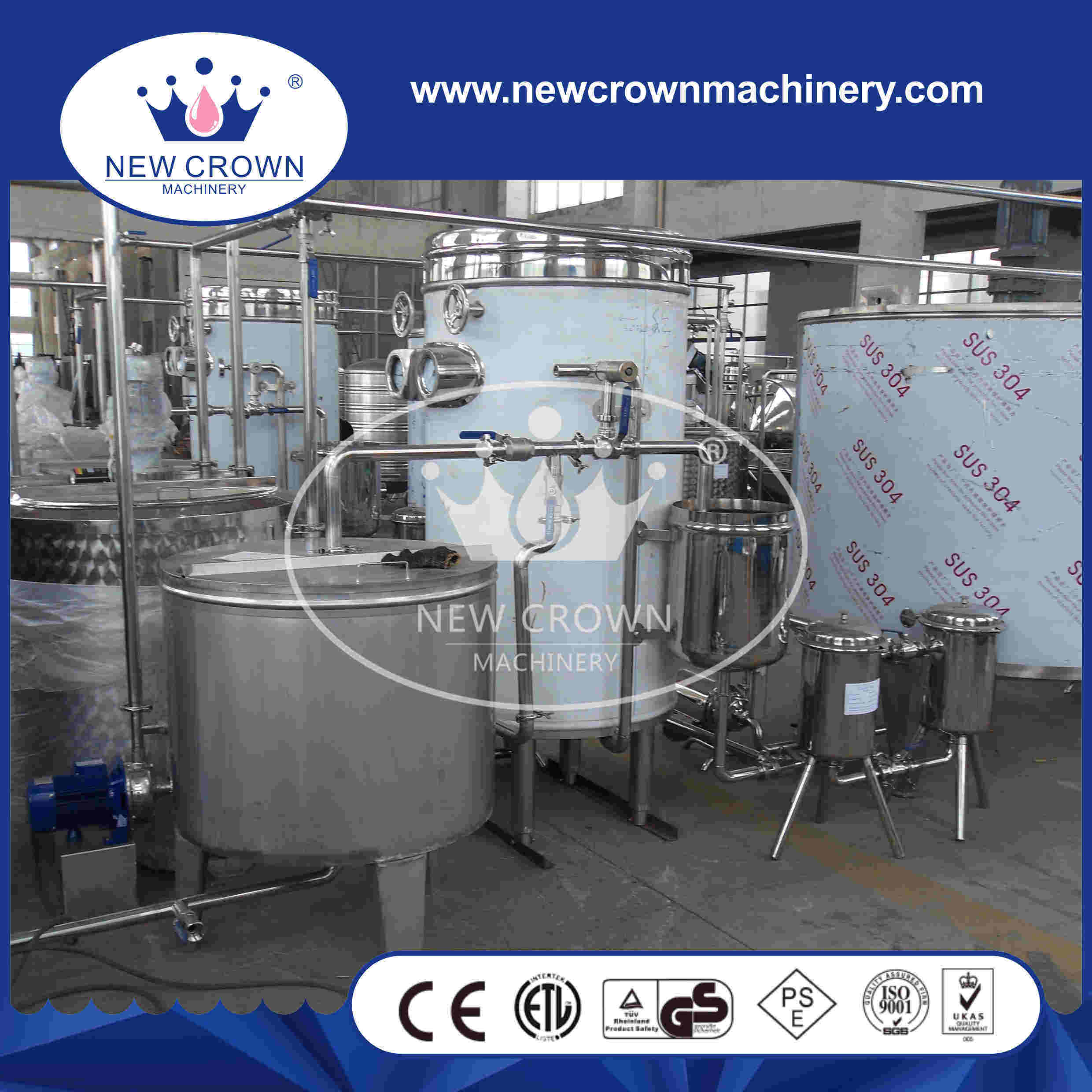 Concentrate Juice Mixing Production Line pictures & photos