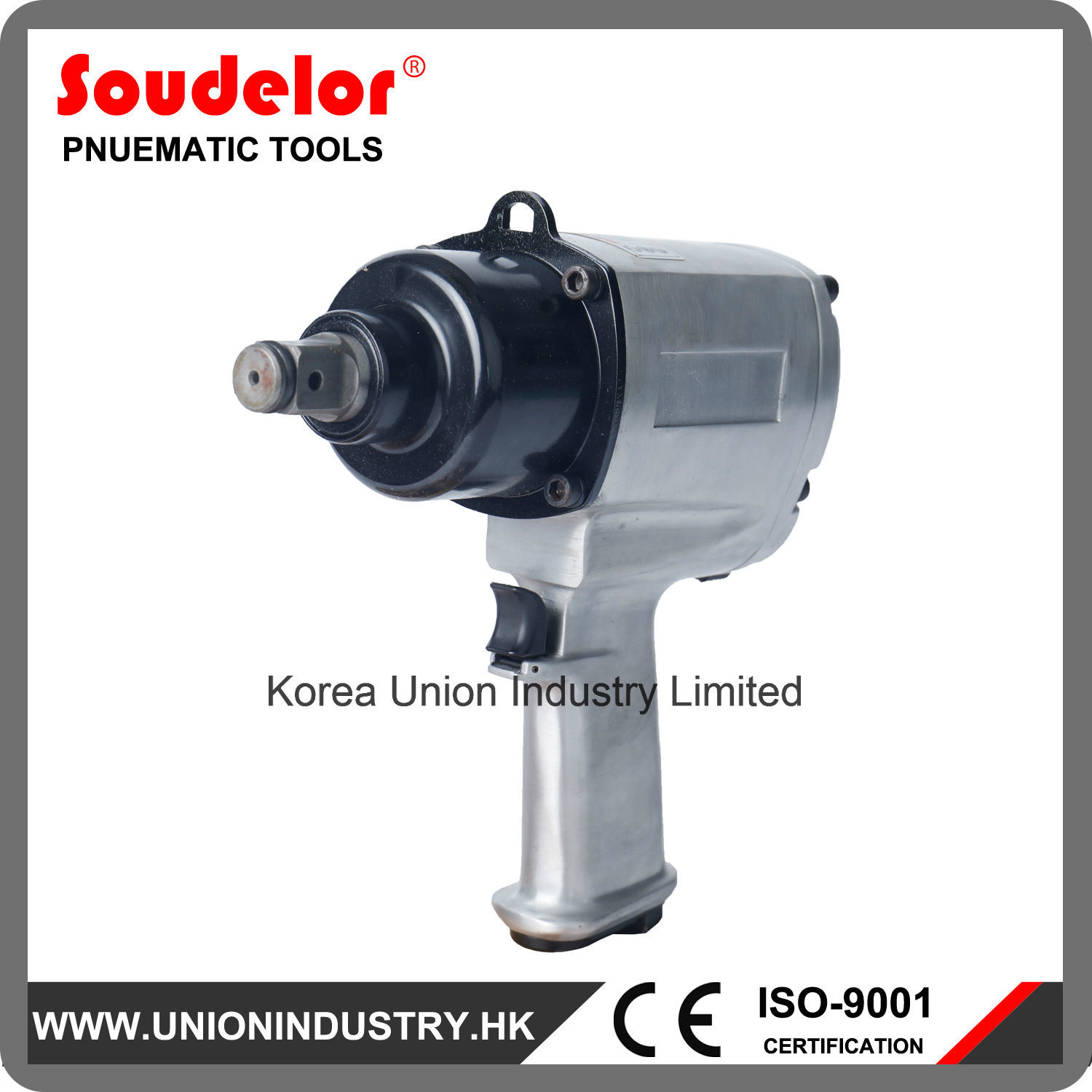 High Quality Strong 3 4 Inch Air Impact Wrench Ui 1102