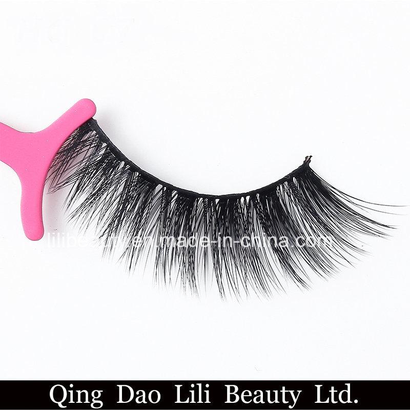 China Korean Silk 3d Silk Eyelashes False Eyelash Natural Style