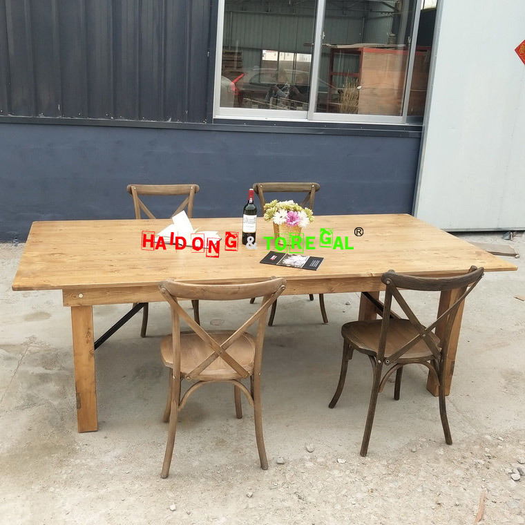 China Flash Furniture Hercules Series, Antique Farmhouse Dining Table And Chairs
