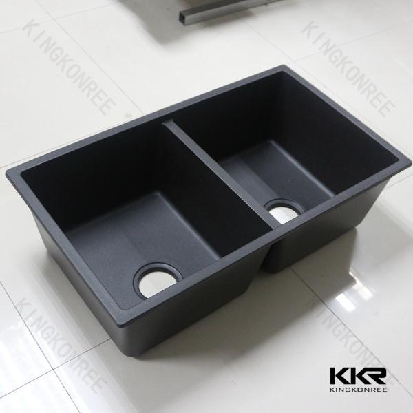 Kingkonree International China Surface Industrial Co. Ltd. & [Hot Item] Durable Customized Artificial Stone Undermount Kitchen Sinks