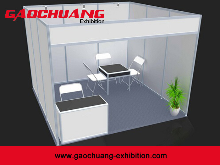 3X3 Auminum Modular Standard Exhibition Booth (GC-3X3)