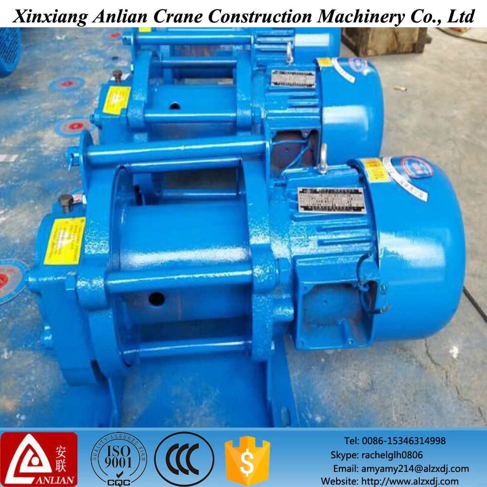 China Kcd Type Multifunctional Electric Wire Rope Hoist Winch ...