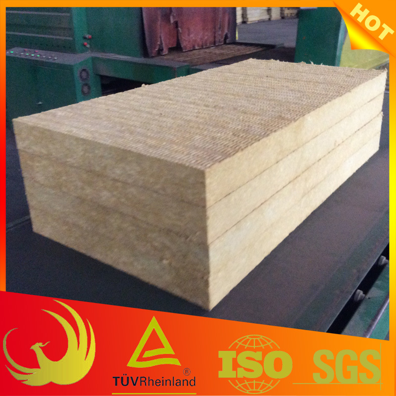 Thermal Insulation Fireproof Rock Wool Board pictures & photos