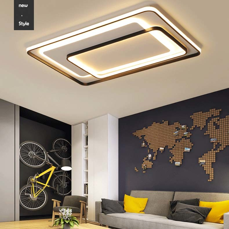 Square Flat Led Ceiling Light
