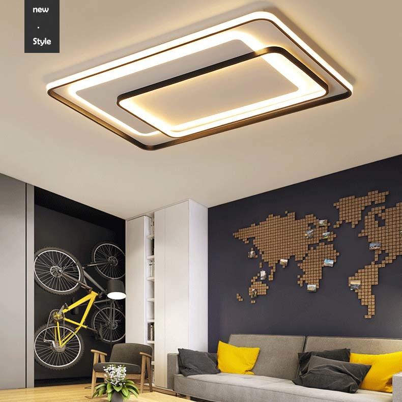 Square Flat Led Ceiling Light