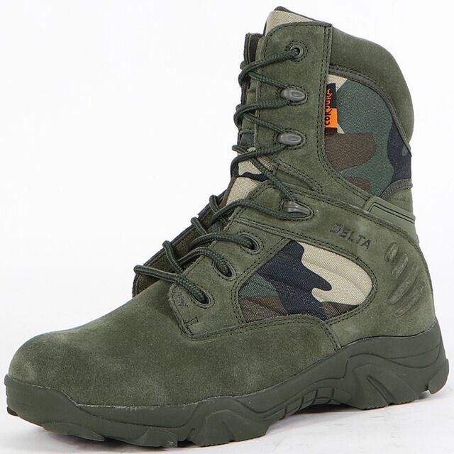 Top Combat Boots