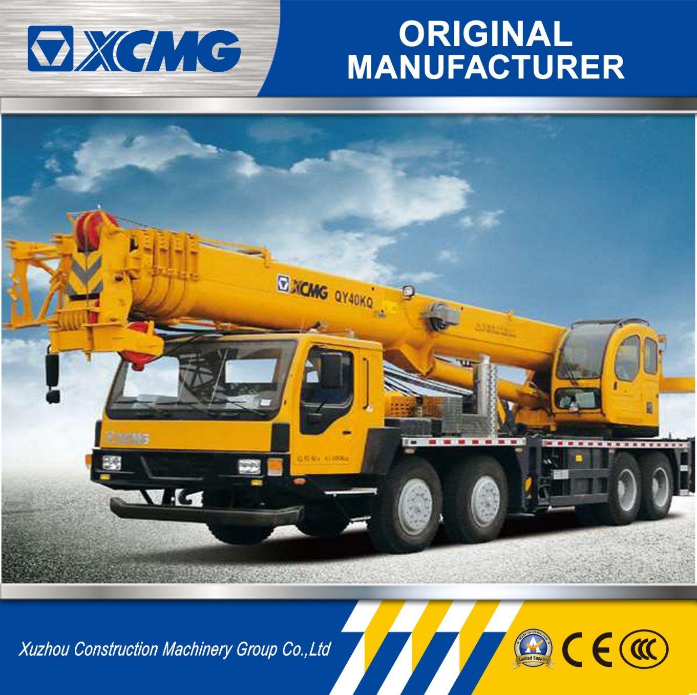 [Hot Item] XCMG Official Manufacturer Qy40kq 40ton Truck Crane 40ton Mobile  Crane