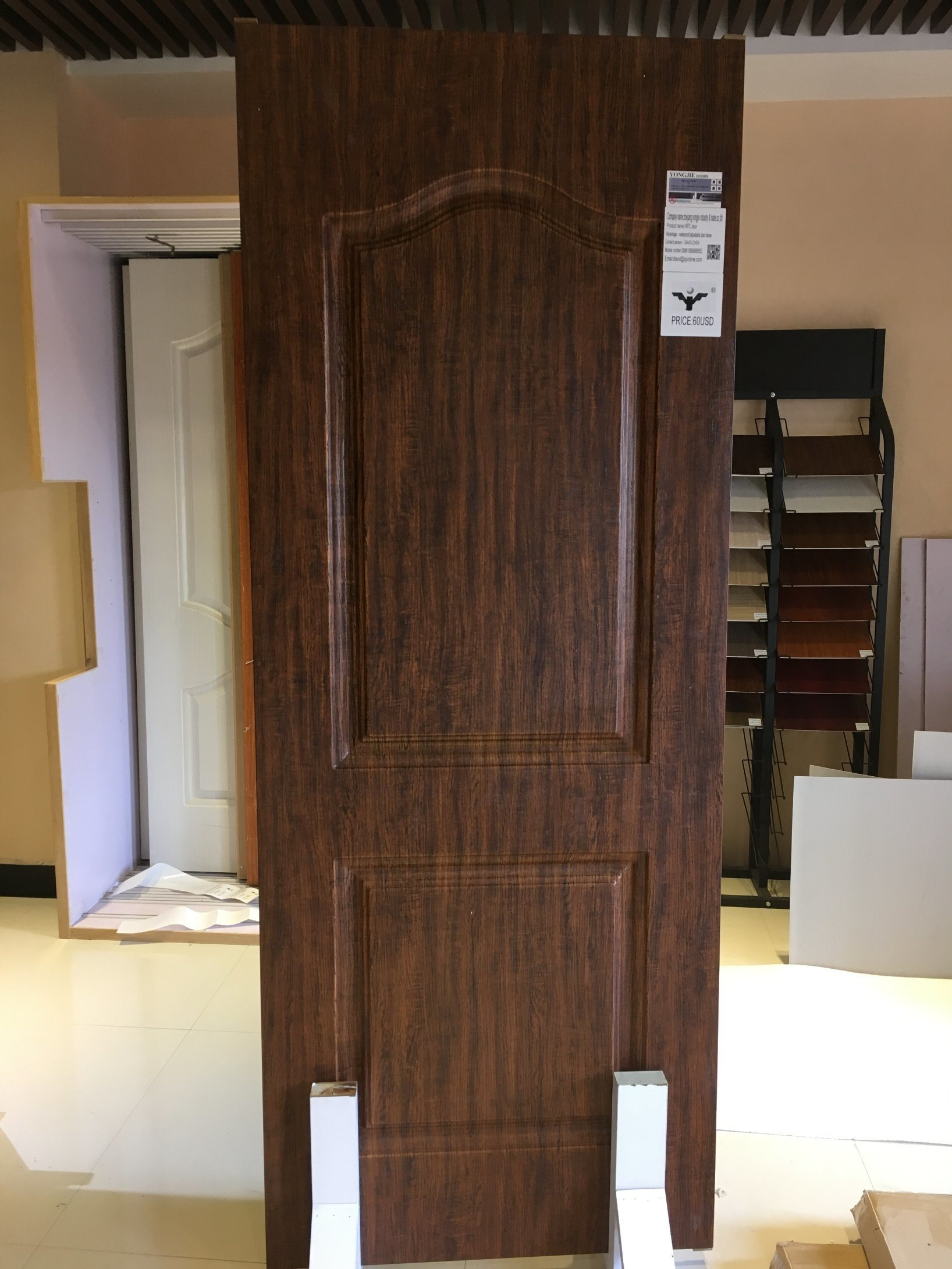 China Hot Sale Wpc Interior Doors Cheap Price For Kuwait Photos