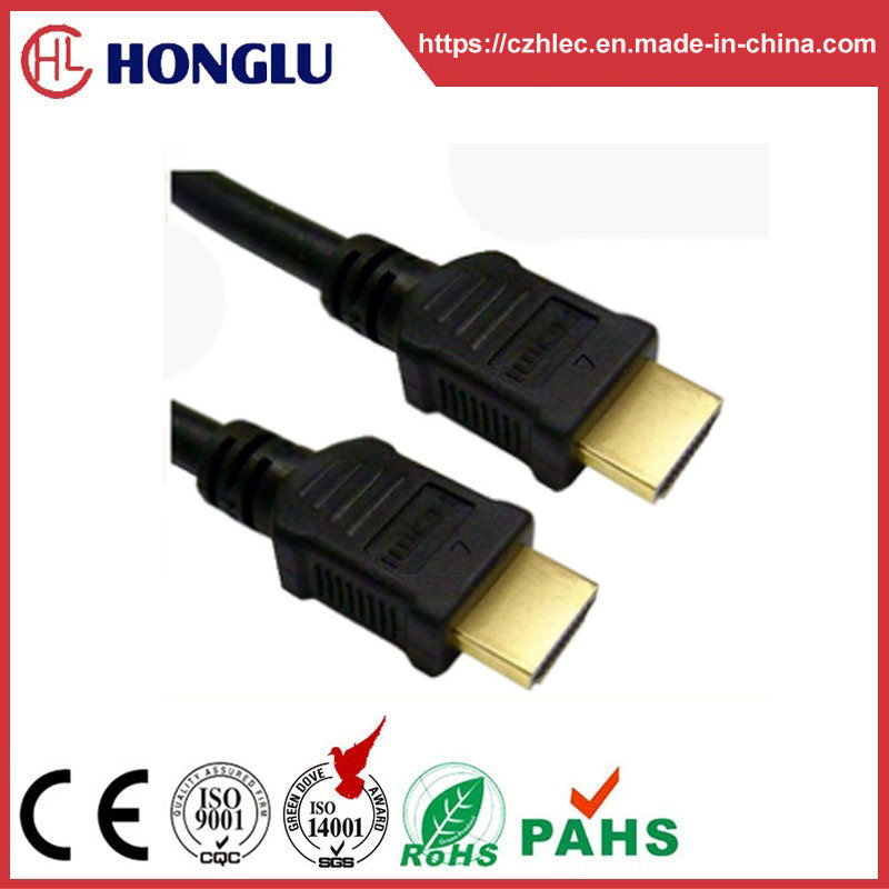 China Gold Plated Game Player HDTV xBox 360 HDMI Cable - China Xbox ...