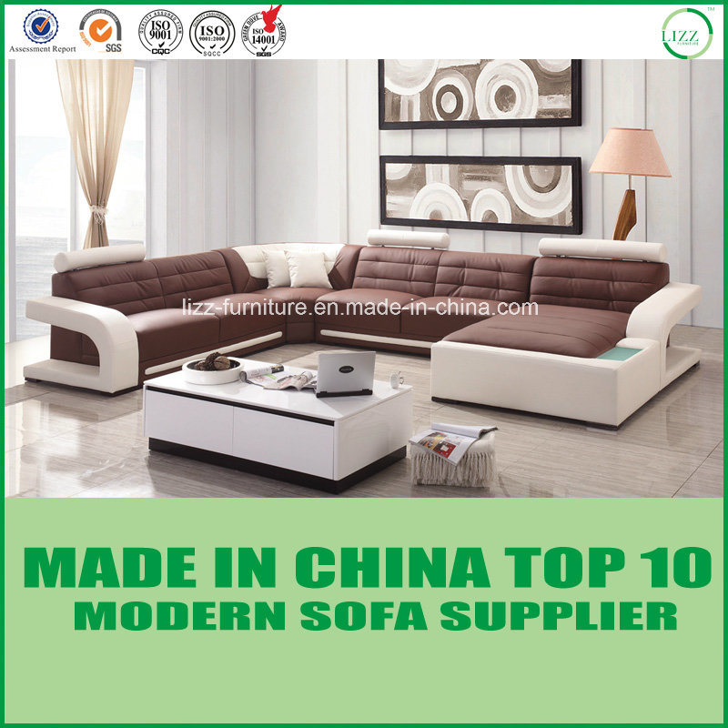 China Miami Modern Furniture Wooden Frame Corner Sofa China