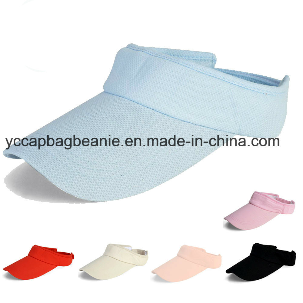 China Elastic Back Big Visor Sun Visor Hat - China Sun Visor e469a54559b