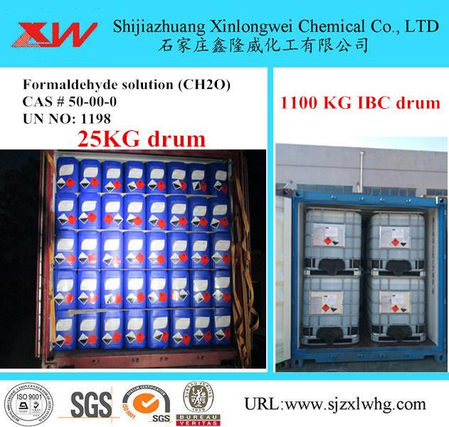 China High Quality 1100 Kg Ibc Drum Formaldehyde 37 40 China