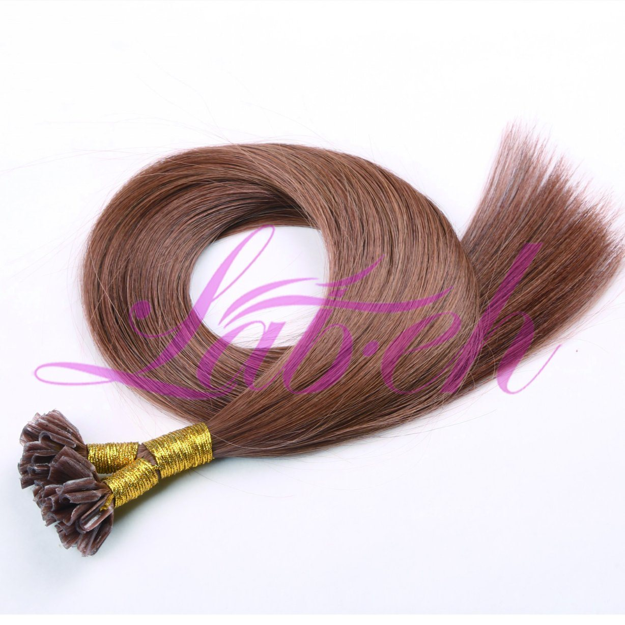 China 10 26 100g Pre Bonded Nail U Tip Remy Human Hair Extension