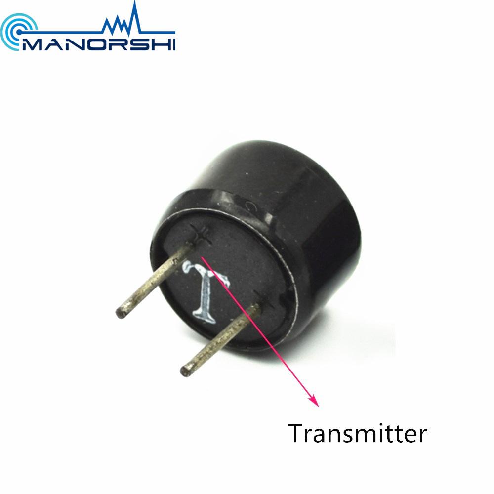China 10mm 40khz Ultrasonic Sensor Transmitter With Pin Plastic Case Circuit Transducer