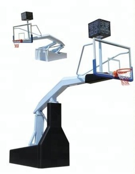 China 2018 Basketball Equipment Portable Hydraulic Basketball Stand