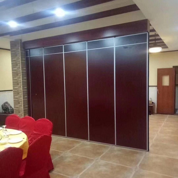 Hot Item Sliding Aluminium Door Track Conference Room Movable Acoustic Divider