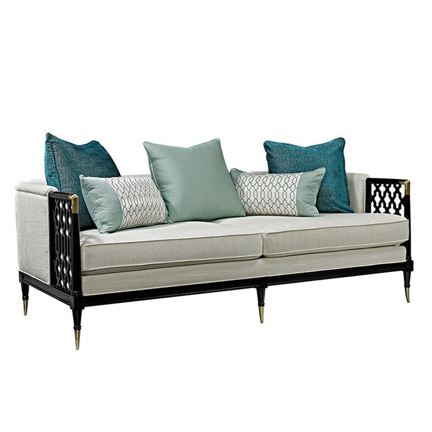 2 Seater Widen Office Fabric Sofa Bed