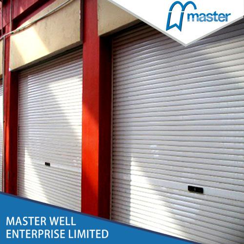 Motorized Roll Up Doors Roller Door Down Security Interior Plastic Rolling Sliding Doorsroll Panels Rapid