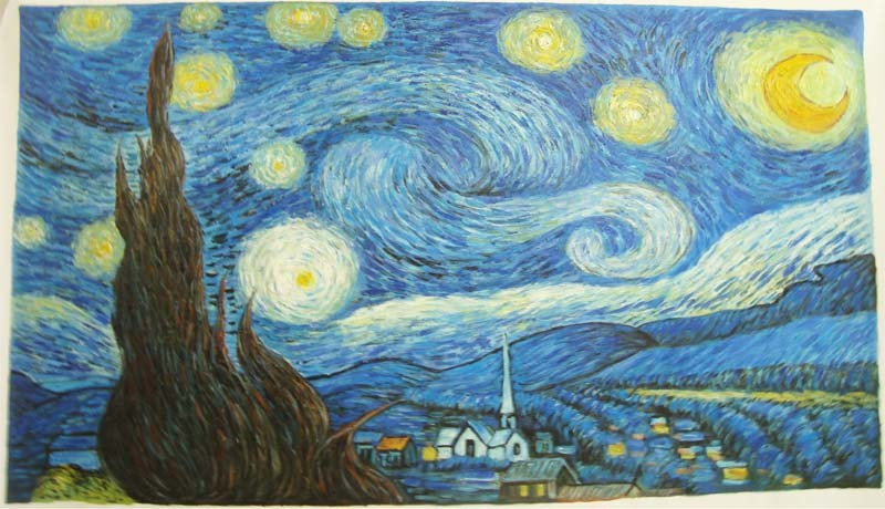 Acrylic Paint Famous Art