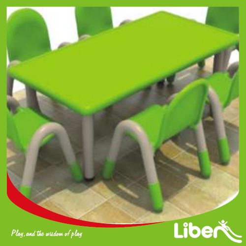 Children Plastic Nursery School Furniture Kids Study Table And Chairs Le Zy 015