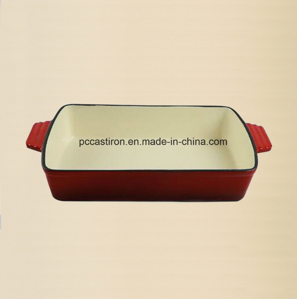 Enamel Cast Iron Platter Manufacturer From China pictures & photos