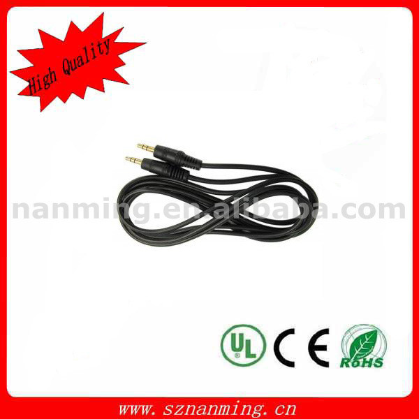 AV Cable Straight DC3.5 Cable Male to Male pictures & photos