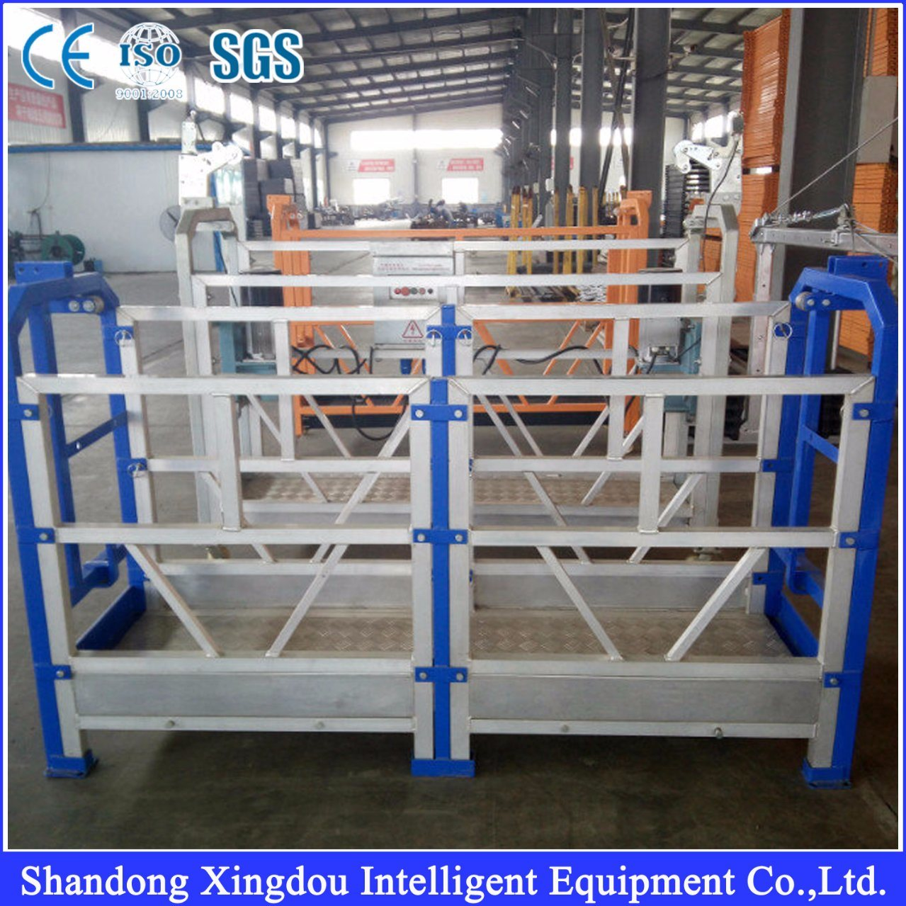 China Scaffolding Window Cleaning Suspended Platform - China Work ...