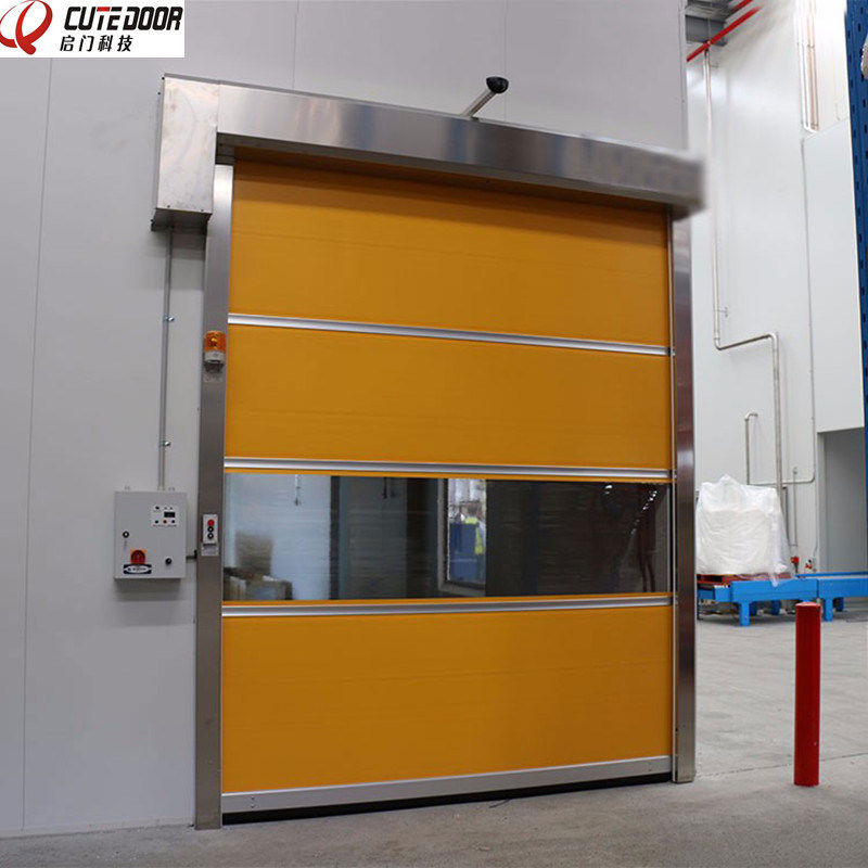 High Quality Industrial Clean Roller Shutter Door with CCC Certification pictures & photos