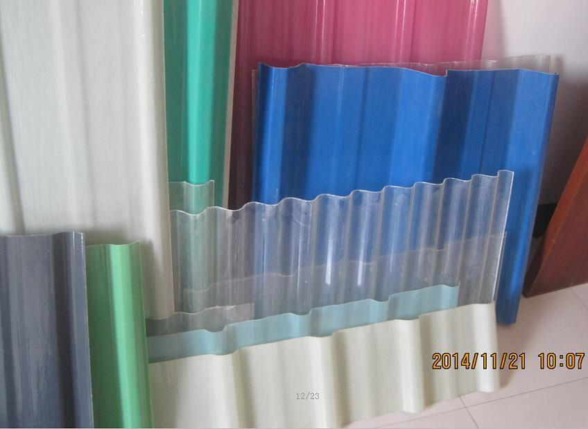 Fiberglass Corrugated Roofing Sheet, Corrugated Roof Tile, Corrugated Panel