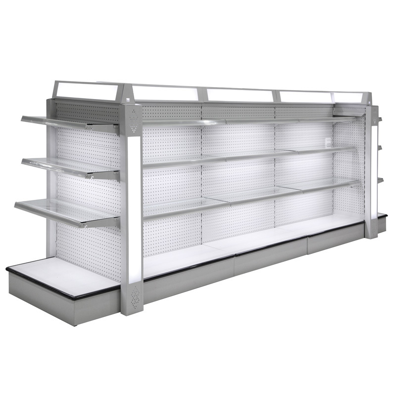 Yd-S2 Double Side Punched Back Board Supermarket Shelf From Suzhou Yuanda (YD-S2)