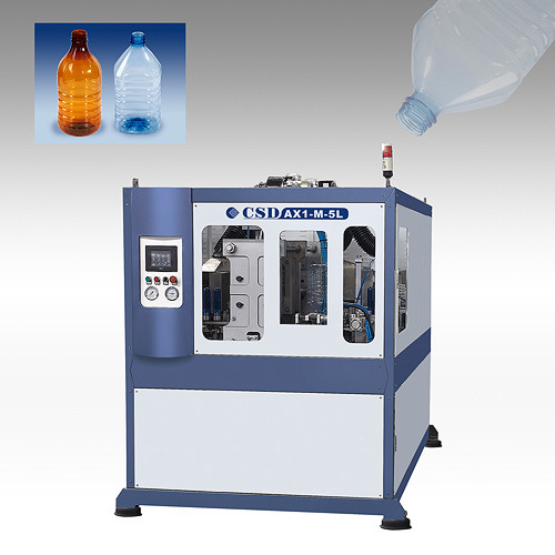 CE Approved Ax Down Blow Series Automatic Blow Molding Machine (CSD-AX1-M-5L)
