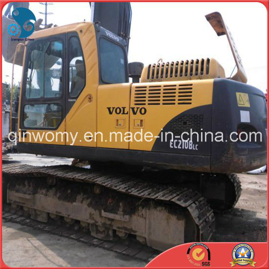 [Hot Item] 2007-German-Make 20ton Used 6-Cylinders-Engine Volvo Ec210b  Hydraulic Crawler Backhoe Excavator
