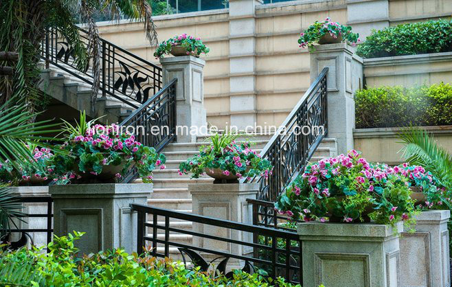Residential Use Iron Outdoor Balcony&Stair Railings pictures & photos