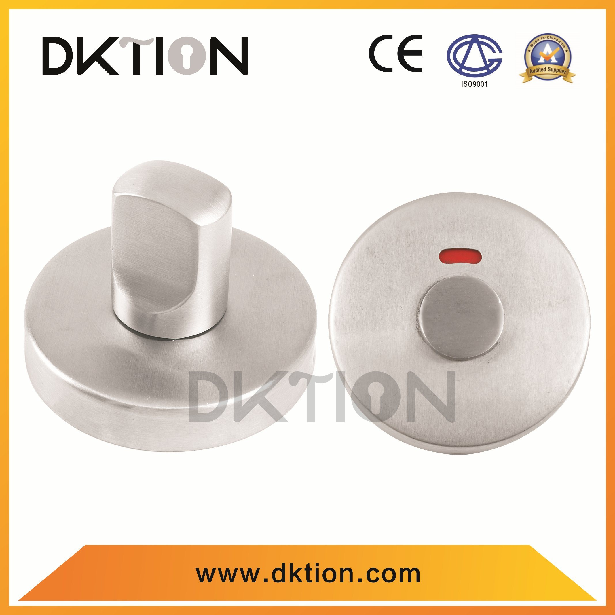 China CT001 Satinless Steel Bathroom Accessories Disabled Thumb Turn ...