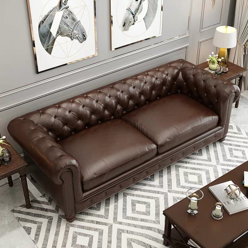 China Luxury Living Room Chesterfield