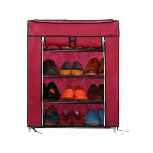 High Quality Folding Shoe Shelf Non Woven DIY Shoe Cabinet