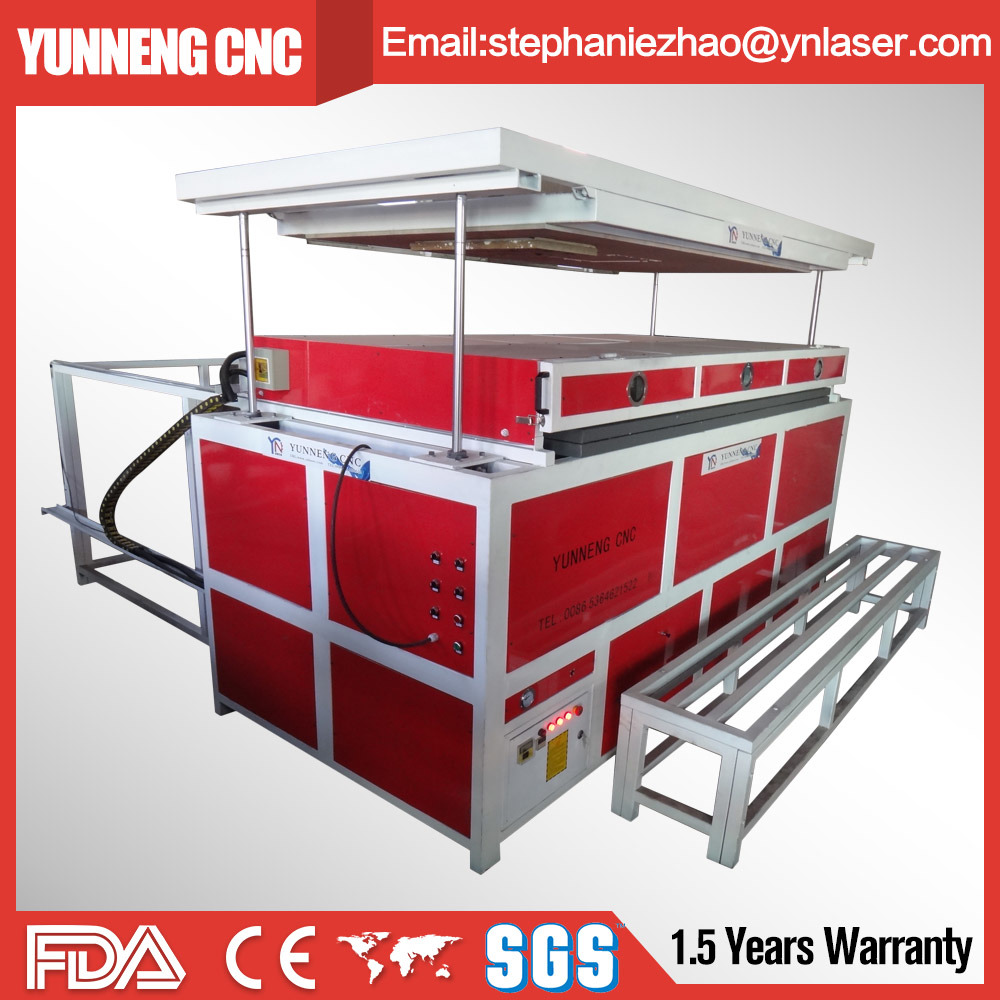 Acrylic ABS Vacuum Thermoforming Machine with Ce