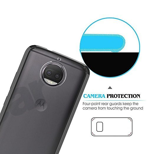 online retailer 5b688 c647f [Hot Item] Moto G5s+ Case, Moto G5s Plus Case Clear PC Back TPU Air Bumper  Protective Case Cover for Motorola Moto G5s+ / Moto G5s Plus