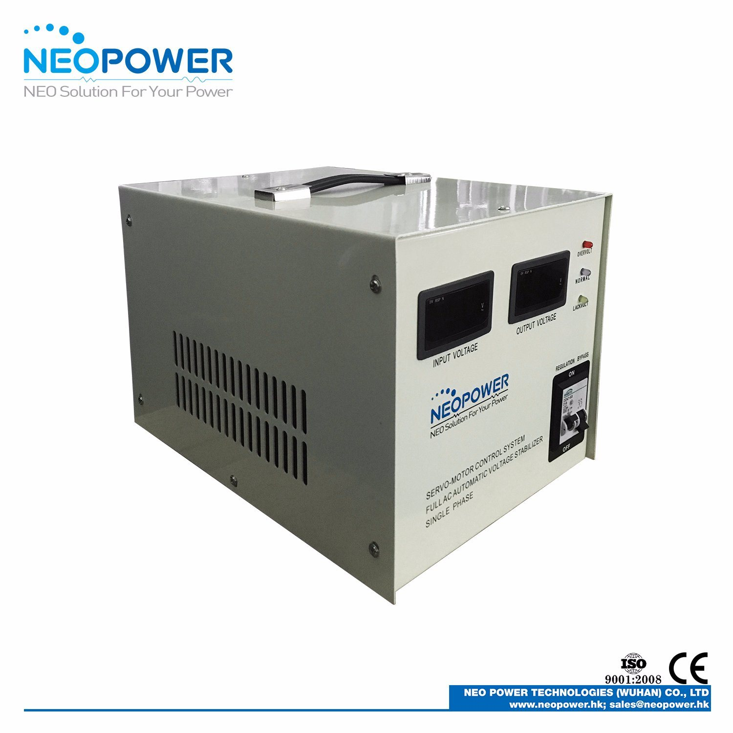 China 20kVA LED Display Voltage Stabilizer for Household Industrial ...