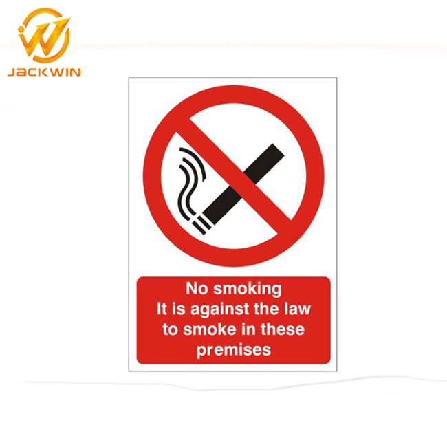 [Hot Item] Prohibition Plastic Sign, No Smoking Warning Sign