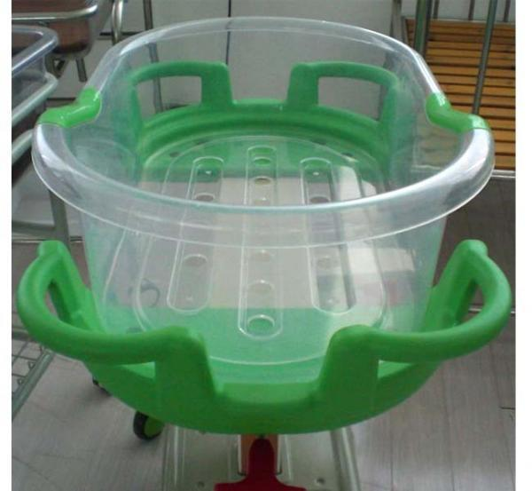 with Temperature and Music Function Tiltable Baby Bassinet Cart pictures & photos