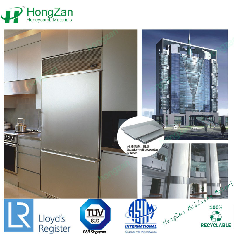 China Stainless Steel Wall Panels Aluminum Honeycomb Core Sandwich Panel China Stainless Steel Honeycomb Panel Honeycomb Panel