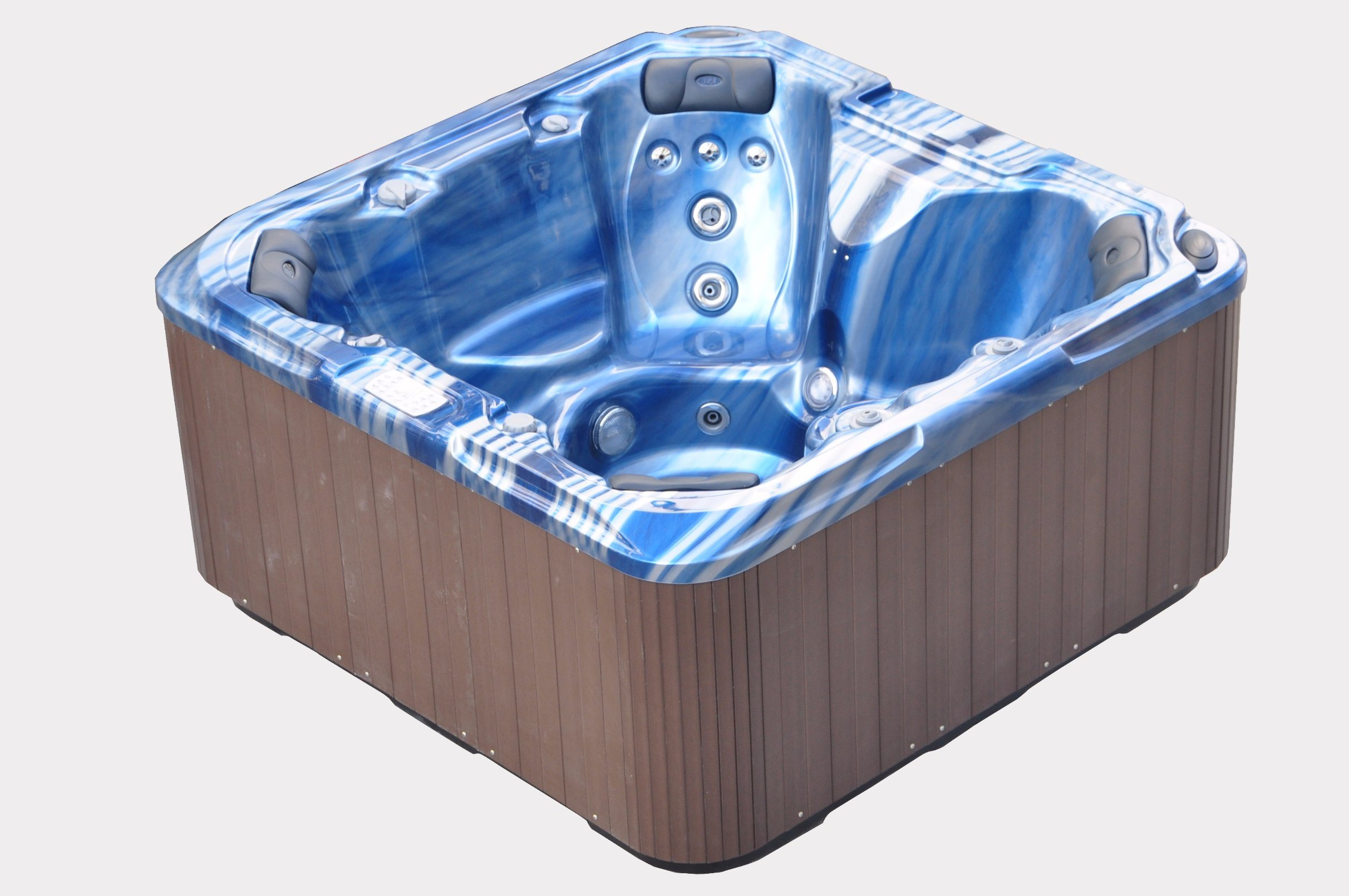China Hight Quality Blue Acrylic Hot Tub Aqua SPA Wholesale Bathtubs ...