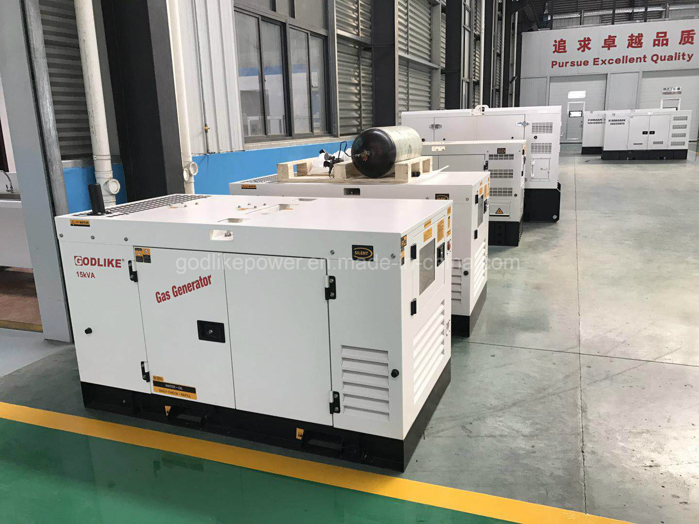 China 60Hz 3 Phase 12kw Natural Gas Power Generator for Home Photos ...