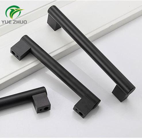 Foshan Accessories Aluminium Exterior Aluminum Door Pull Kitchen Bar Handles