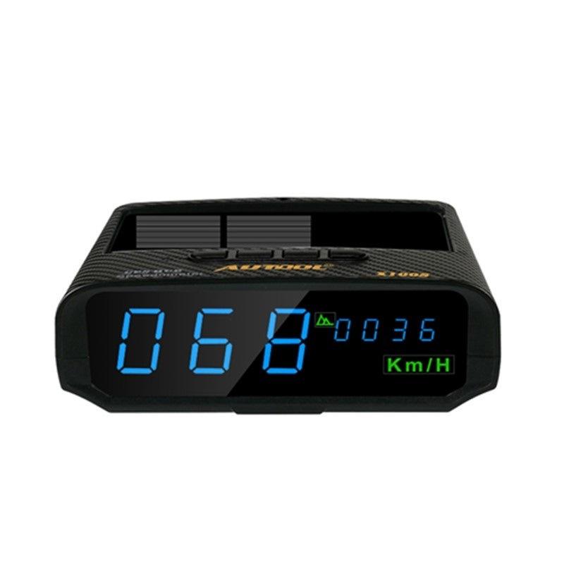 AUTOOL OBD2 Overspeed Alarm Computer Display Speedometer Digital Meter KMH//MPH