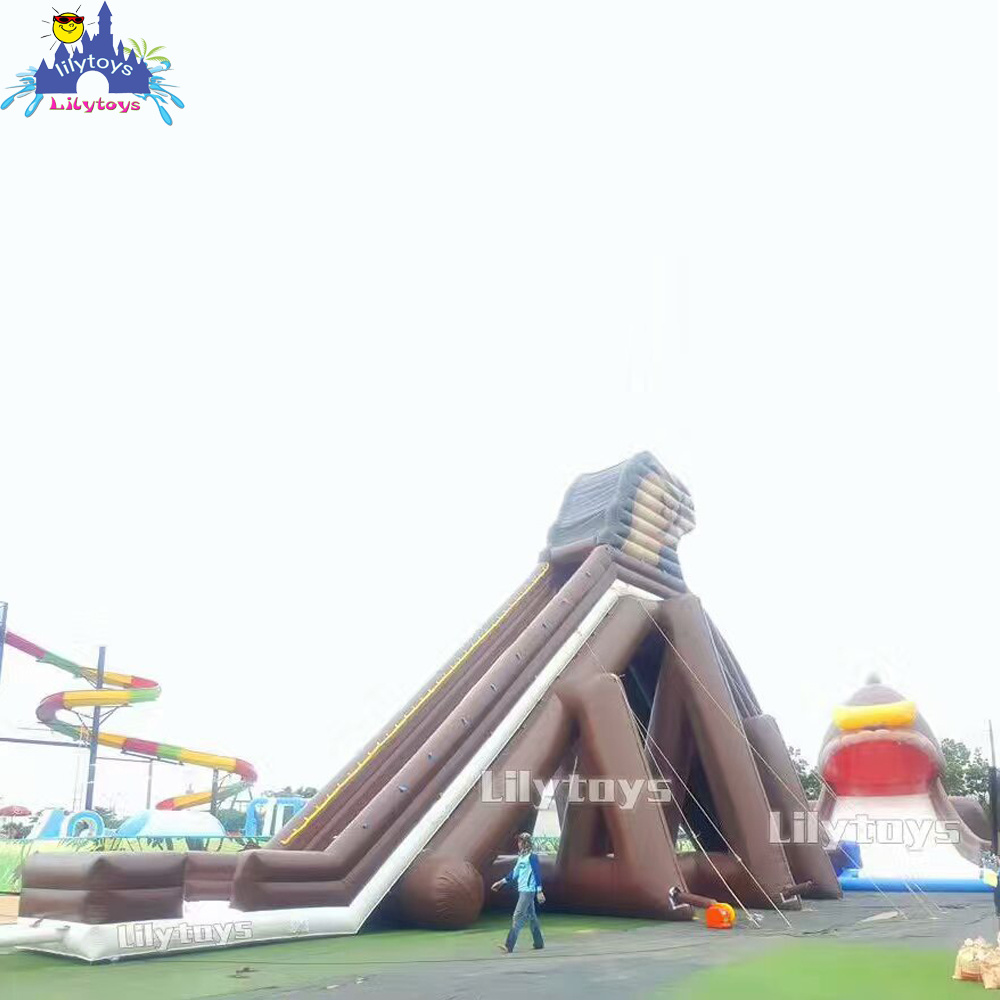 Good Quality Palm Tree Inflatable Water Slide Bounce House Bouncy Castles Pool Water Slide China Inflatable Pool Slide And Inflatable Slide Price Made In China Com